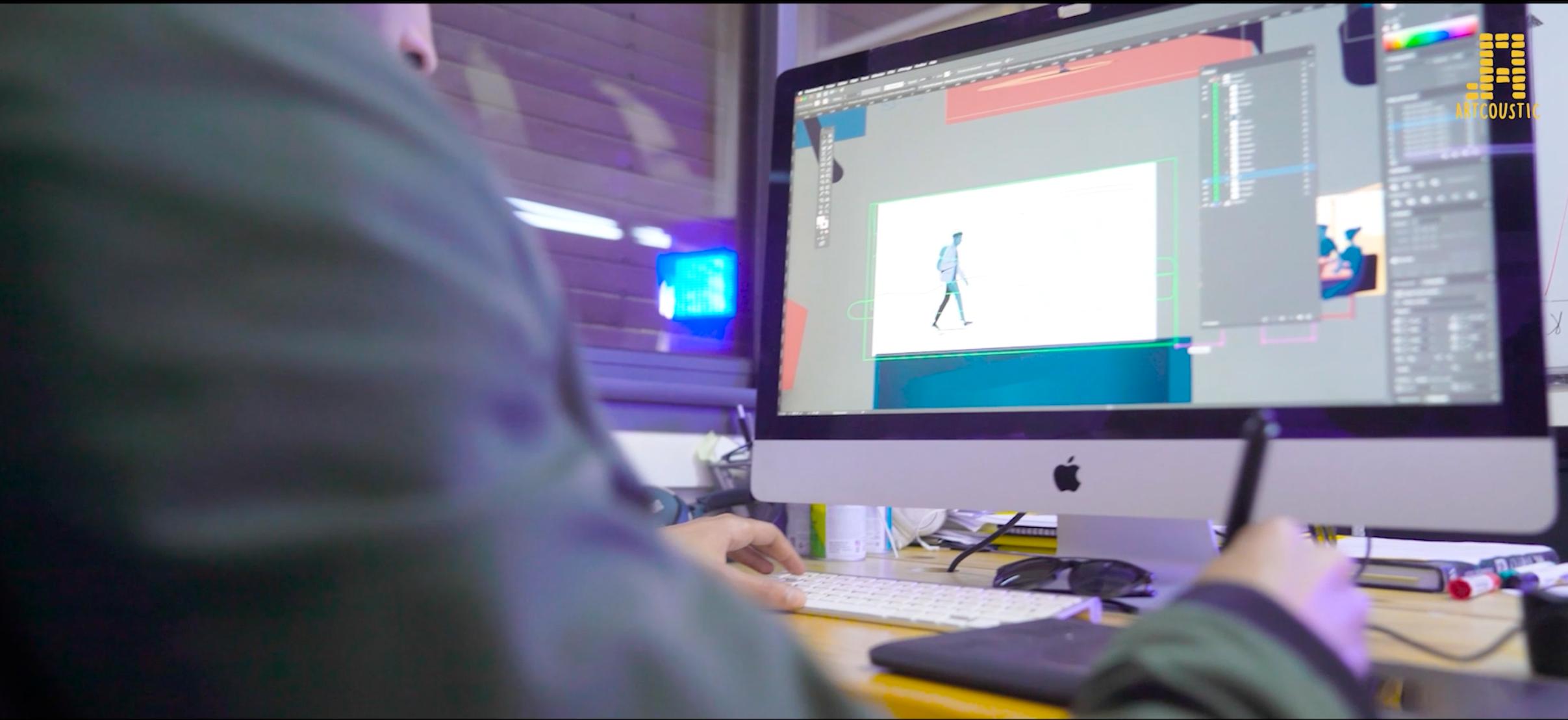 Production d'animation 2D, studio ArtCoustic